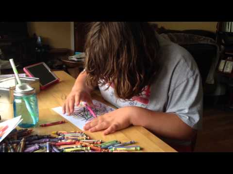 Abbey, The Artist autism non-verbal color video