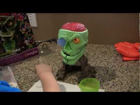 Doctor Dreadful Zombie Lab - Bubbling Brains - The Toy Spy