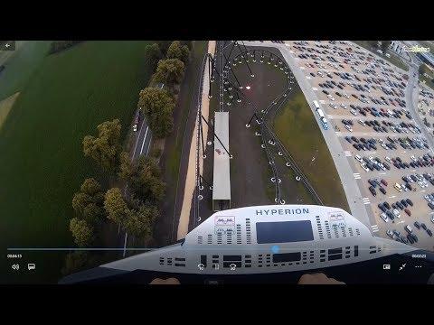Otwarcie RollerCoaster HYPERION Energylandia Zator