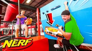NINJA WARRIOR NERF BATTLE ROYALE CHALLENGE!