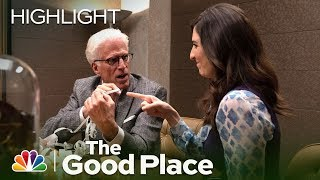 Michael Returns from Earth - The Good Place (Episode Highlight)