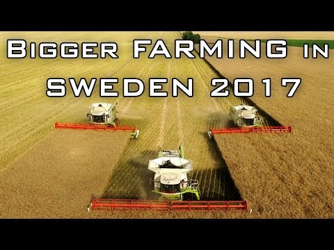 Bigger Farming in Sweden 2017