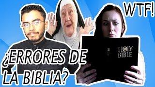 Curiosidades y Errores de la Biblia que no sabías (No apto para creyentes fanáticos)