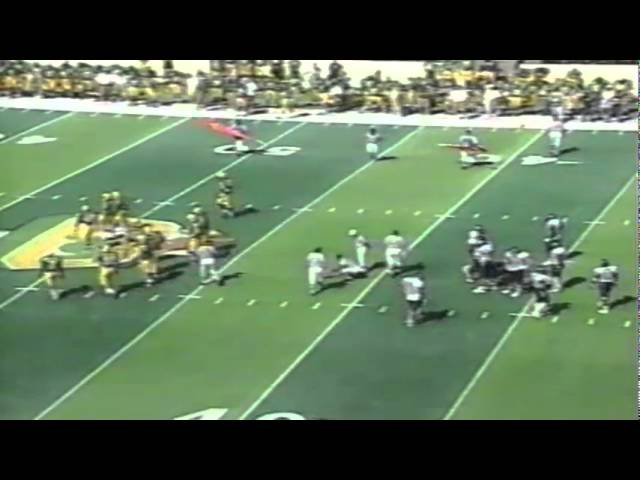 Oregon WR Jibri Hodge 25 yard catch vs. Nevada 9-07-1996