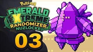 ROXANNE DOESN'T MESS AROUND! - Pokémon Emerald EXTREME Randomizer Nuzlocke w/ Supra! Episode #03