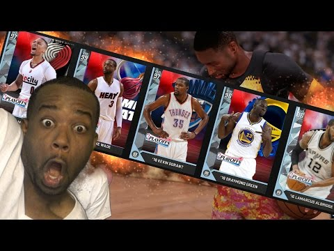 THIS NEW DWYANE WADE IS OVERPOWERED! ALL NEW PLAYOFF MOMENT CARD CHALLENGE! NBA 2k16 MyTeam Gameplay