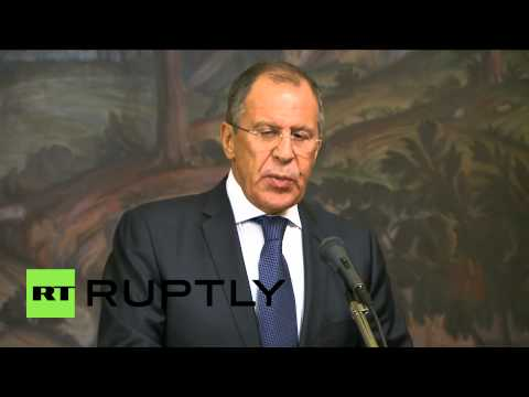 Russia: 'Ukrainian army is guilty of war crimes in Donetsk,' says Lavrov