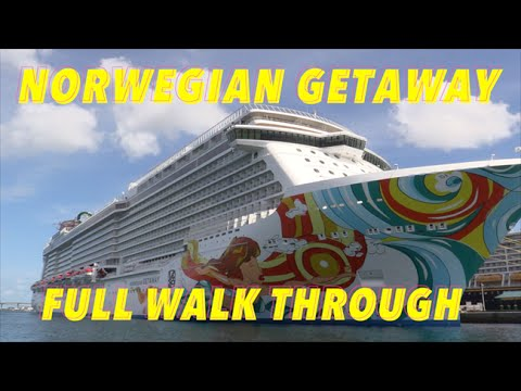 Norwegian Getaway Review - Full Walkthrough - Ship Tour