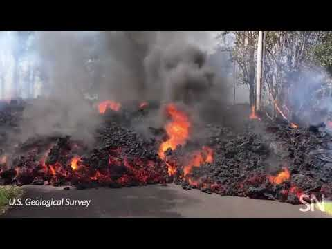 Hawaii's Kilauea volcano spews lava through Leilani Estates | Science News