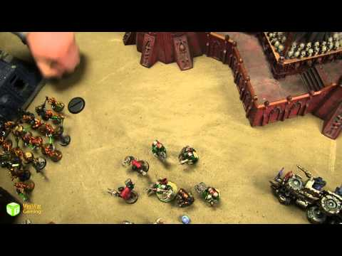 Necrons vs Orks Warhammer 40k Battle Report - Warhammer 40K League Season 2 Ep 21
