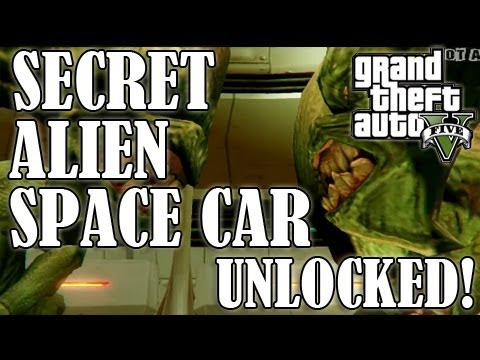 GTA 5 - How To Get The ALIEN SPACE CRAFT! - (Where To Find The UFO Parts!)