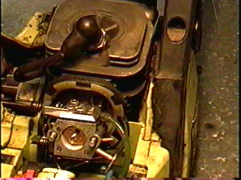 HOW TO Remove WALBRO Carburetor From  the Poulan 2150 Chainsaw