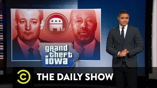 The Daily Show  Ted Cruzs Iowa Caucus Win