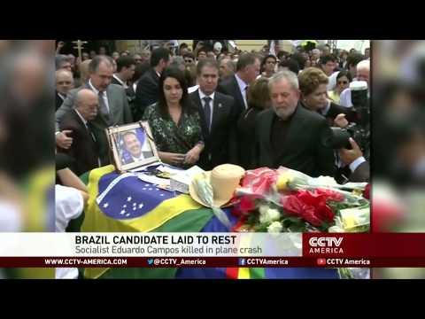 Thousands gather at funeral of Eduardo Campos
