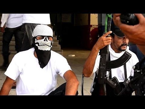 Mexico's anti-cartel armed vigilantes seize another town