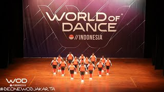 #vlog De.one at World of Dance Indonesia 2019
