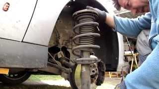 Peugeot 206 stoßdämpfer hinten wechseln