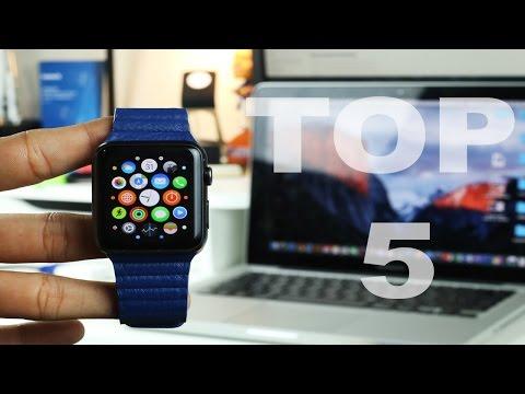 Top 5 Apple Watch Apps (October 2015)