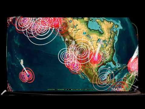 Wyoming / Yellowstone hit by large FRACKING EQ -- 𝔼𝕒𝕣𝕥𝕙𝕢𝕦𝕒𝕜𝕖𝟛𝔻 𝓵𝓲𝓿𝒆 𝓼𝓽𝓻𝒆𝓪𝓶