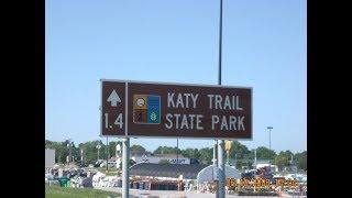 USA @ 10mph - KATY Trail - Missouri-  Picture Slideshow - 2008 - Pedal Bike Tour