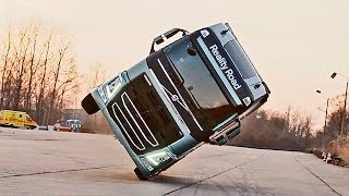 New SAFETY TECHONOLOGY for Trucks From VOLVO