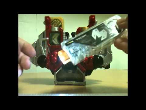 Kamen Rider W(Double) Toy Review Part 1: DX Super Best Double Driver