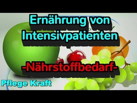 Ernährung von Intensivpatienten - Teil 1 - Berechnung des Nährstoffbedarfs