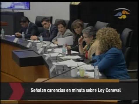 Inician audiencias para dictaminar la ley del Coneval
