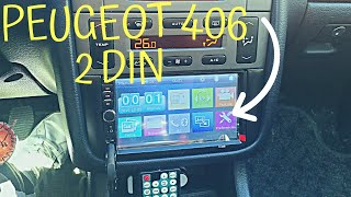 Instalar Radio 2 DIN en Peugeot 406/Peugeot 406 Coupe | Caceres406
