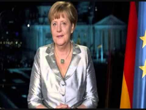 Neujahrsansprache Merkel 2013  Reverse Speech video