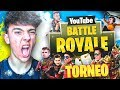 Agustin51 EN EL GRAN TORNEO DE YOUTUBERS en FORTNITE: Battle Royale!!