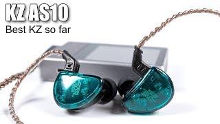 KZ AS10 earphones review