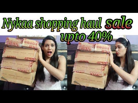 Nykaa shopping haul (monsoon sale upto 40% off)