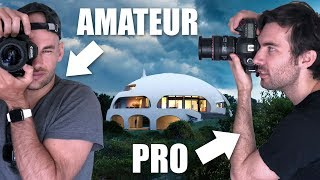 "Amateur Vs Pro Architecture Photographer Shoot The ""DOME HOUSE"""