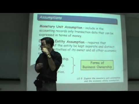 Principles of Accounting - Lecture 02