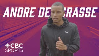 Andre De Grasse Walks You Through a 100m Race | The Breakdown | CBC Sports