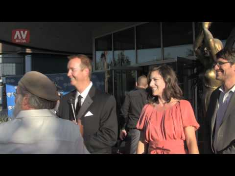 Ron Smith, Sarah McMasters - Laemmle Blvd Cinemas red carpet
