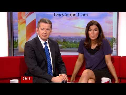 Susanna Reid Wearing Stockings Showing off her legs