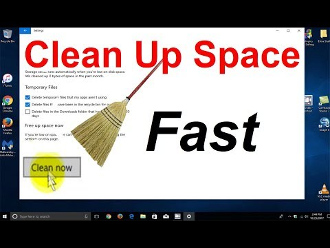 See How to Clean Your Computer & How to Clean disk space Windows 10 Automatically - Free
