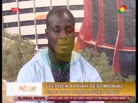 Newday - Interview with Stephen Appiah - 24/6/2015