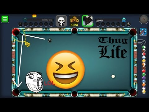 50M $ Berlin Platz - 8 Ball Luck - Thug life - Miniclip 8 Ball Pool