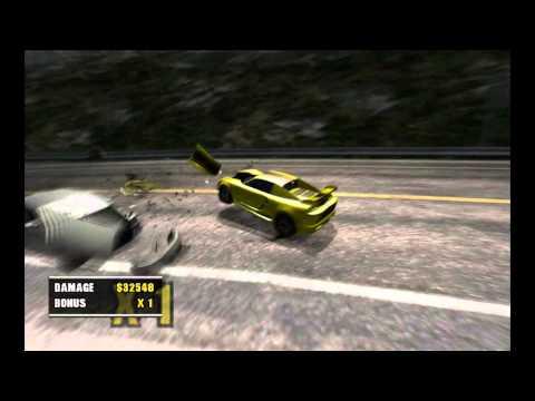 Burnout 2 Point Of Impact : Crasher sur les routes c'est rigolo dans les jeux vidéo