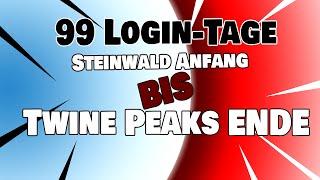 99 Tage vom Steinwald bis Twine Peaks SSV 6 ! Meine Spielweise | Fortnite Rette die Welt