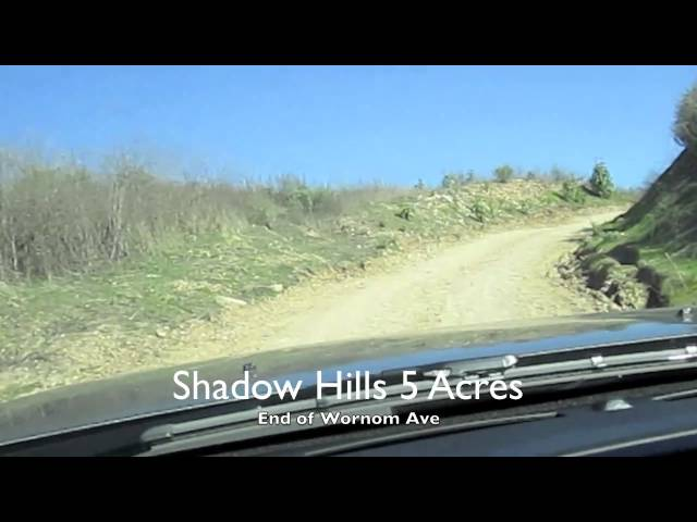 Shadow Hills Land for Sale - 5 Acres