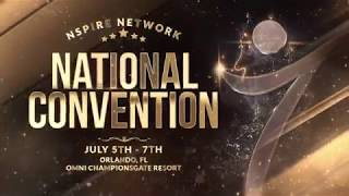 Nspire Network National Convention - Orlando July 2018
