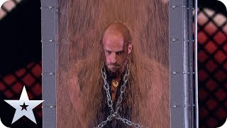 Download Song Escapologist Jonathan Goodwin is BURIED ALIVE! | The Final | BGT 2019 Free StafaMp3
