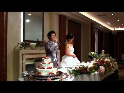 オカーノ結婚式④披露宴挨拶