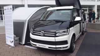 2015 IAA VW T6 ''SpaceCamper'' Exterior & Interior * see also Playlist