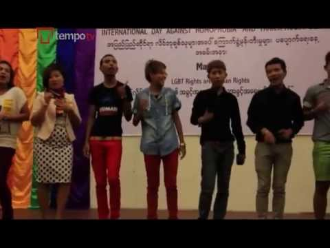 Burma's Lgbt Community Slowly Coming Out video
