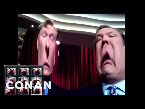 Conan & Andy Are Webcam Clueless video